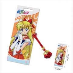 Pretty Soldier Sailor Moon Cosplay Game Cartoon Anime Keychain Fashion Chains