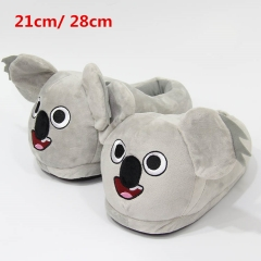 We Bare Bears Cosplay Cute Cartoon For Adult Anime Plush Slipper