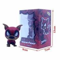 Deadpool Cosplay Shake Head Dog Decoration Car Cartoon Model Toy Statue Anime PVC Action Figures