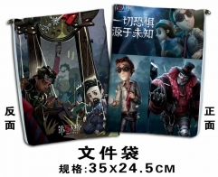 Identity V Cosplay Cartoon For Student Office File Holder Anime File Pocket