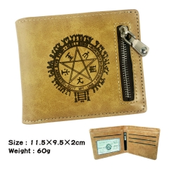 Hellsing Cosplay Cartoon Fashion Purse Bifold Anime Wallet