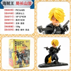 One Piece Sanji Cartoon Model Toy Statue Collection Anime PVC Figures 15cm