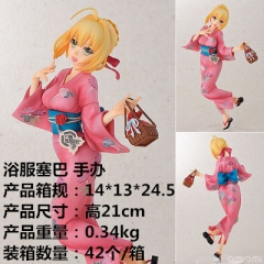 Fate Stay Night Saber Cosplay Cartoon Model Toys Statue Anime PVC Figure
