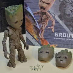 HT Guardians of the Galaxy Groot Cosplay Cartoon Model Toy Statue Anime PVC Figure