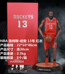 NBA James Harden Cosplay Basketball Star Model Toy Statue Anime PVC Figure