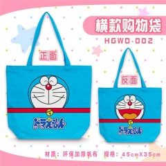Doraemon Kawaii Shopping Bag Women Single Shoulder Bags