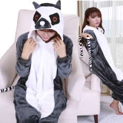 Animal Cartoon Cosplay New Kawaii Pyjamas Warm Winter Anime Flannel Pyjamas