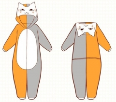 Natsume Yuunjinchou Cartoon Cosplay New Kawaii Pyjamas Warm Winter Anime Flannel Pyjamas
