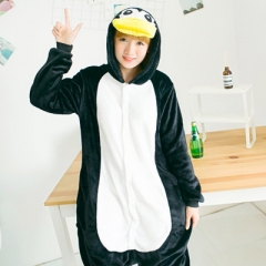 Animal Penguin Cartoon Cosplay New Kawaii Pyjamas Warm Winter Anime Flannel Pyjamas