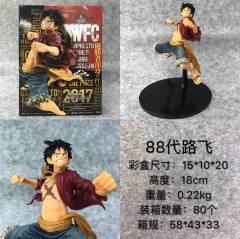 One Piece 88 Generation Luffy Cartoon Model Toy Statue PVC Action Anime Figures