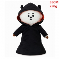 High Quality K-POP BTS Bulletproof Boy Scouts Cosplay Korean Group Anime Plush Toy 38cm