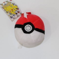Pokemon Poke Ball Cosplay Cute Cartoon Doll Anime Plush Toys Plush Pendant (10pcs/set)
