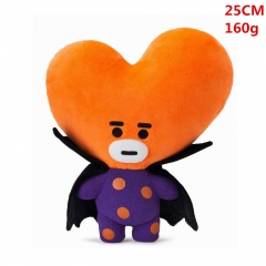 High Quality K-POP BTS Bulletproof Boy Scouts Cosplay Korean Group Anime Plush Toy 25cm