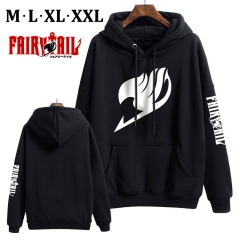 Fairy Tail Cotton Hoodie Soft Thick Hooded Hoodie Warm With Hat Sweatshirts