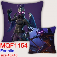Fortnite Cartoon Soft Pillow Game Square Stuffed Pillows 45*45cm