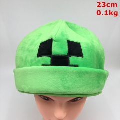 Minecraft Creeper Cosplay Game Fashion Anime Plush Hat
