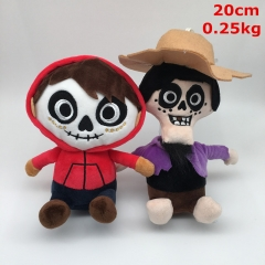 Coco Hector Rivera Cartoon Lovely Doll Anime Plush Toy (2pcs/set)