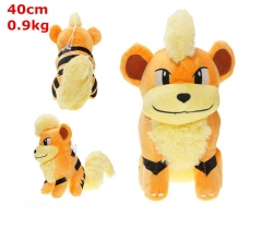 Pokemon Growlithe Cosplay Japanese Cartoon For Kids Fancy Stuffed Doll Anime Plush Toy