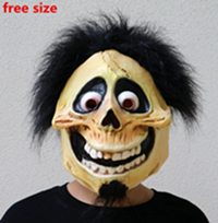 Coco Movie Cartoon Latex Cosplay Mask