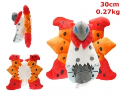 Pokemon Volcarona Cosplay Japanese Cartoon For Kids Fancy Stuffed Doll Anime Plush Toy