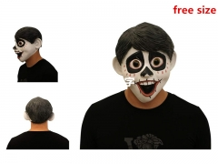 Movie Coco Cartoon Popular Latex Cosplay Mask
