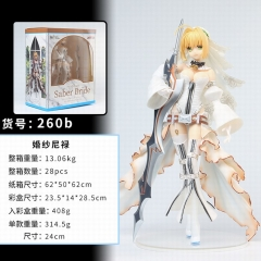 Fate Stay Night Nero 260b# Cosplay Japanese Cartoon Model Toys Statue Anime PVC Figure