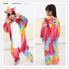Unicorn Animal Children Pyjamas Pajamas
