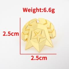 Kawaii Cosplay Brooch Fortnite Game Alloy Badge Pin