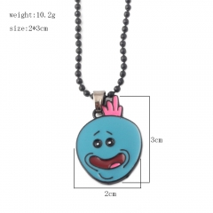 Rick and Morty Cosplay Alloy Necklace Decoration Alloy Necklace