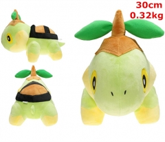 Pokemon Turtwig Cosplay Cartoon For Kids Fancy Stuffed Doll Anime Plush Toy
