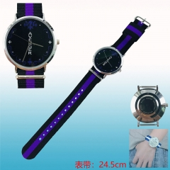 Fate Stay Night Joan of Arc Cosplay Cartoon Nylon Belt Anime Wristwatch