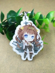 Kantai Collection Acrylic Keychain Cartoon Cute Keyring