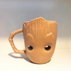Guardians of the Galaxy Groot Model Cup Cartoon Ceramics Large Capacity Creative Anime Mug Cups