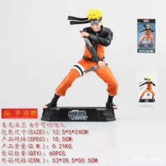 Naruto Uzumaki Naruto Cartoon Model Toys Japanese Anime PVC Figure 15cm