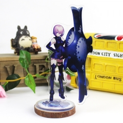 Fate Stay Night Cartoon Acrylic Figure Anime Standing Plates
