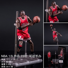 NBA Basketball Star Michael Jordan No. 23 Collection Cartoon Model Toy Statue Anime PVC Figure