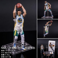 NBA Basketball Star Stephen Curry No. 30 Collection Cartoon Model Toy Statue Anime PVC Figure