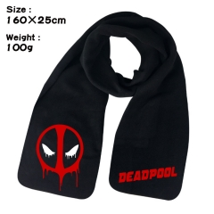 Deadpool Cosplay Cartoon For Winter Hat Warm Decoration Scarf