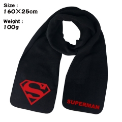 Superman Cosplay Cartoon For Winter Hat Warm Decoration Scarf
