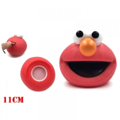 Sesame Street Cartoon Piggy Bank Anime ELMO Money Pot Figure