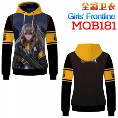Girls Frontline Fashion Cosplay Cartoon Print Anime Sweater Hooded Hoodie