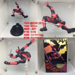 Deadpool Cool Cosplay Movie Cartoon Model Toy Statue Collection Anime PVC Figures