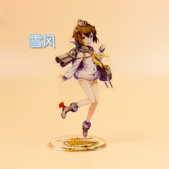 Cartoon Kantai Collection Acrylic Figure Cute Plate Standing Holder