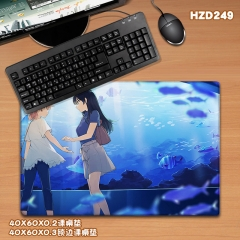 Eventually Anime Cartoon Mouse Pad Fancy Print Mouse Pad