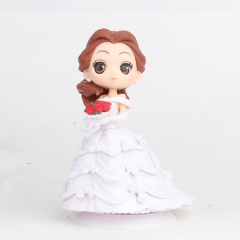 Beauty and the Beast Belle Disney 2 Generation Cosplay Cartoon Model Collection Toys Anime Figure