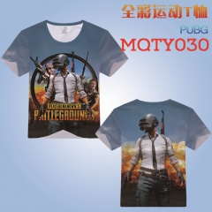 Playerunknown's Battlegrounds Game Cosplay T Shirts