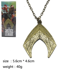 Justice League Aquaman Fashion Cosplay Decoration Neck Pendant Anime Necklace