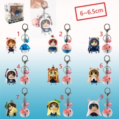 9 Design LoveLive Cosplay Cartoon Decoration Figure Toys Pendant Anime Keychain