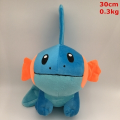 Pokemon Mudkip Cosplay Cartoon Lovely For Gift Doll Anime Plush Toy