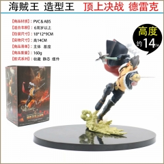 One Piece X Drake Cartoon Collection Model Toys Statue PVC Anime Figure